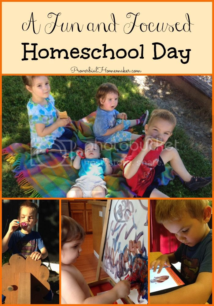 A Fun and Focused Homeschool Day