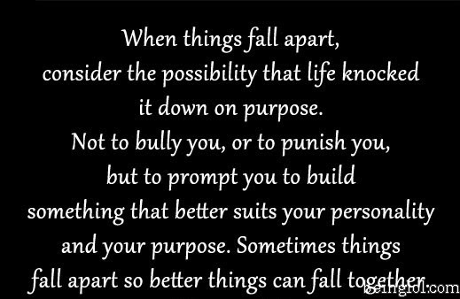 When Things Fall Apart Quotes Funny Pictures Beinglolcom