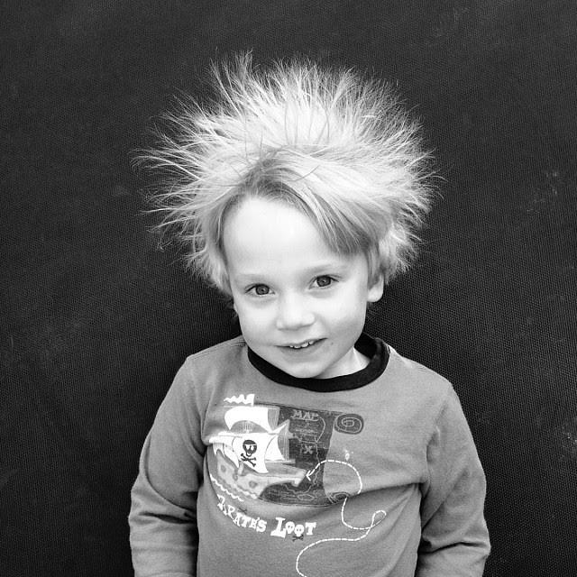 #staticelectricity