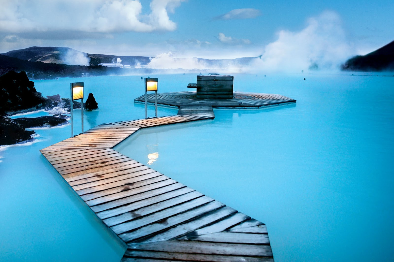 Amazingly Blue Places Around The World