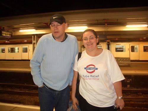Peter and Fimbi at Upminster