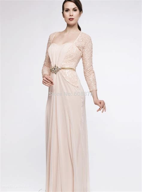 2015 Chic Boutique Floor Length Chiffon Sequin Mother of