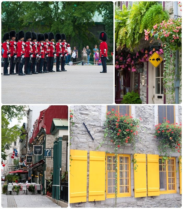 visiting Quebec City ... a photo tour