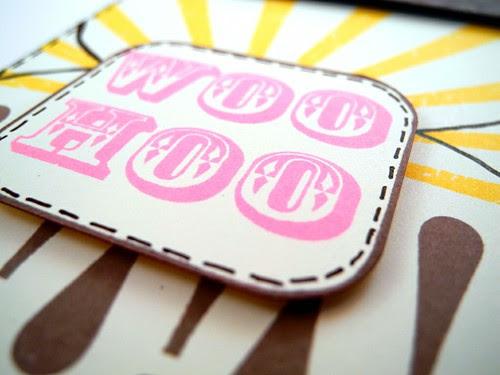 Woo Hoo! Ice Cream Birthday Card