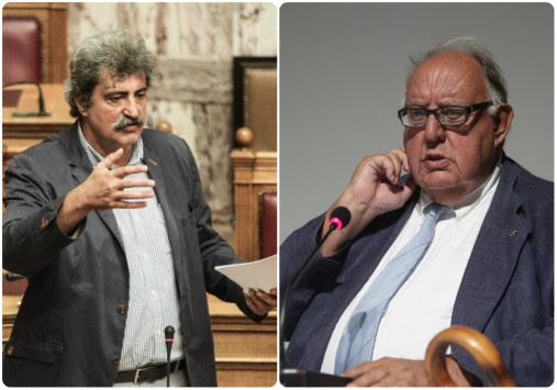 Σκοτωμός! Πάγκαλος: `Μ@λ@κ@ς ο Τσίπρας`! Πολάκης: `Παχύδερμο του εκσυγχρονισμού...` [vid]