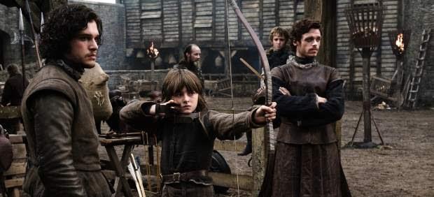 Una escena del primer episodio de 'Juego de tronos'.