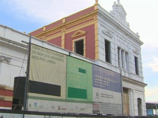 Mercado Adolpho Lisboa chega aos 129 anos de existência neste domingo (15) em Manaus (Foto: Reprodução/TV Amazonas)