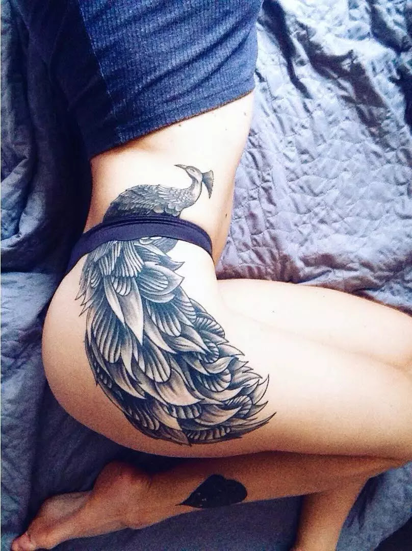 105+ Best Hip Tattoo Designs & Meanings for Girls - (2019)