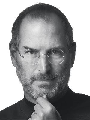 VERSÁTIL Steve Jobs foi técnico, empresário, artista e um ídolo pop (Foto: Simon & Schuster/AP)
