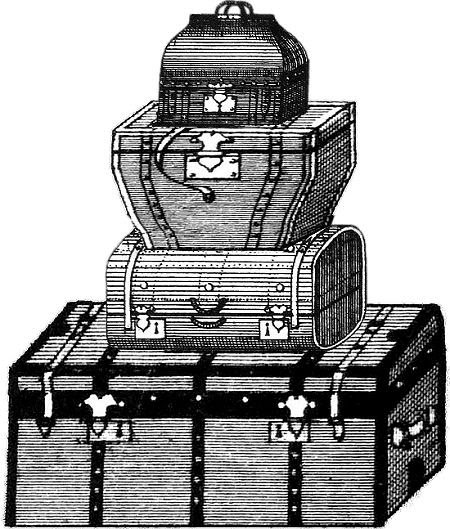 Kofferstapel
