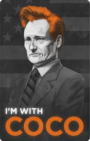 A poster for Team Conan, created during the To...