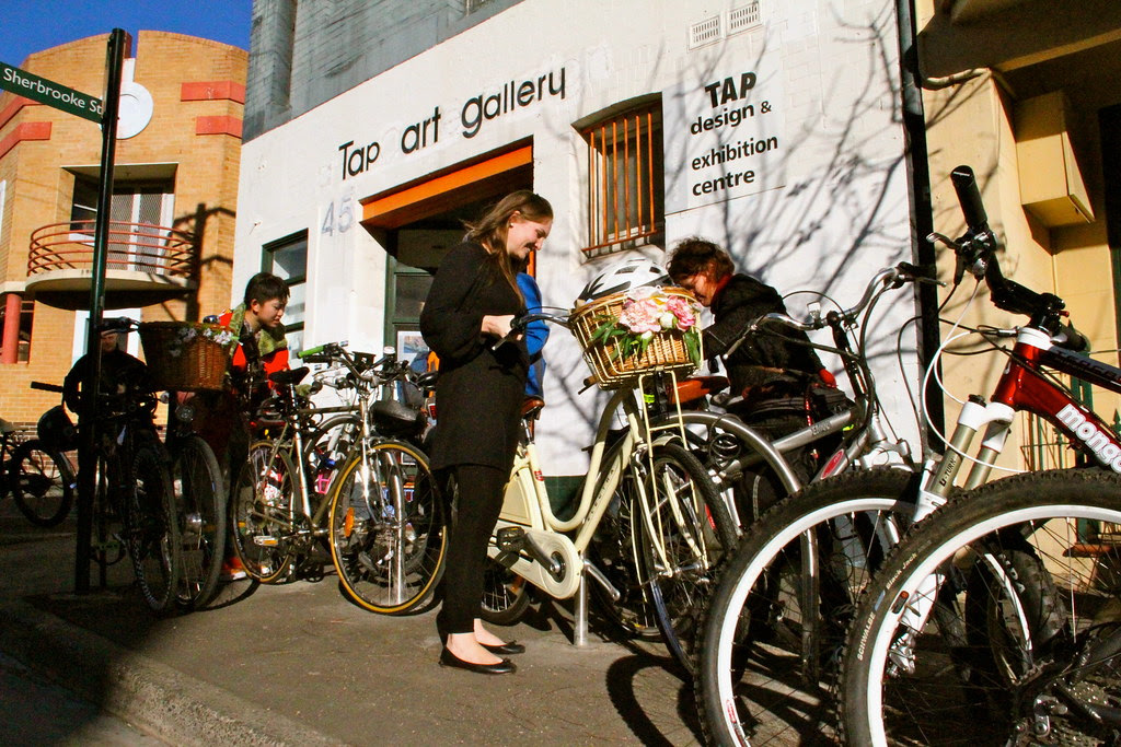 bike parking at tap gallery 7215