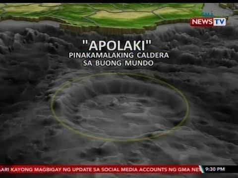 Pinakamalaking caldera sa buong mundo