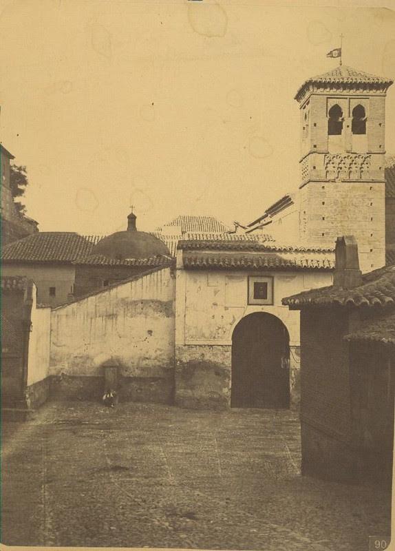 Convento de la Concepción Francisca hacia 1875. Fotografía de Casiano Alguacil © Museo del Traje. Centro de Investigación del Patrimonio Etnológico. Ministerio de Educación, Cultura y Deporte