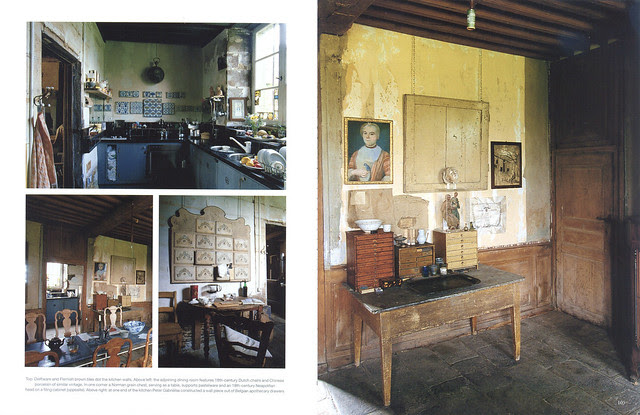 """Le Château in """"World of Interiors"""" 2004 July issue- 3"""