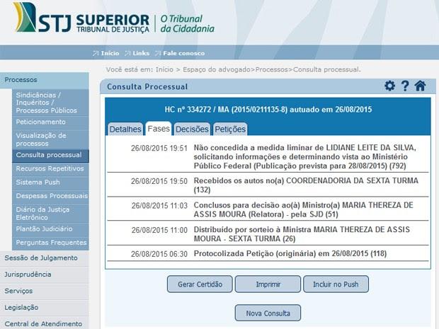 Ministra do STJ nega habeas corpus a prefeita de Bom Jardim (Foto: reprodução/ STJ)