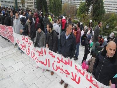 Απεργία πείνας άρχισαν οι πρόσφυγες από τη Συρία στο Σύνταγμα
