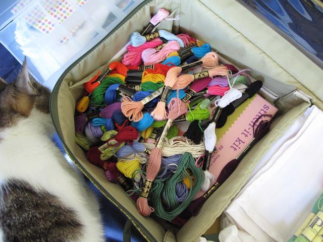 Messy floss