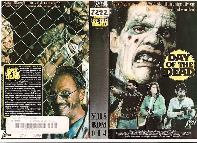 Day Of The Dead (VHS Box Art)
