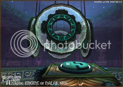 PostcardsFromAzeroth.com: Engine of Nalak'sha