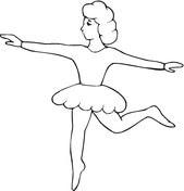 Disegno Di Scarpette Da Danza Da Colorare Disegni Da Colorare E