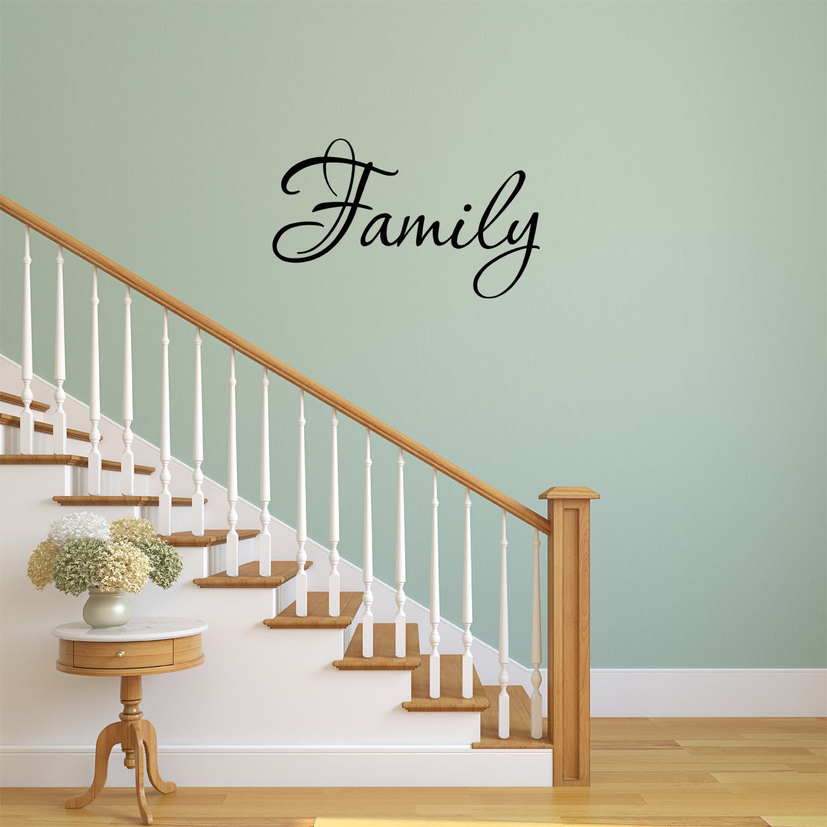 Family Wall Quotes Decals Stickers Home Decor Hanging Living Room
