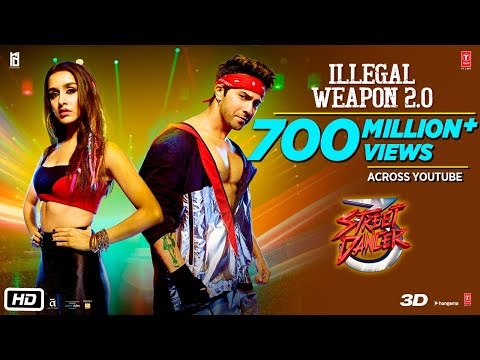 Illegal Weapon 2.0 Lyrics - Street Dancer 3D | Song Download MP3 & MP4