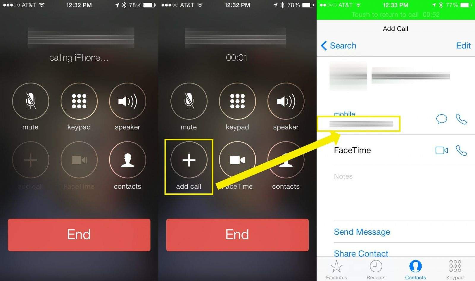 How To Speak Privately In An iPhone Conference Call [iOS ...