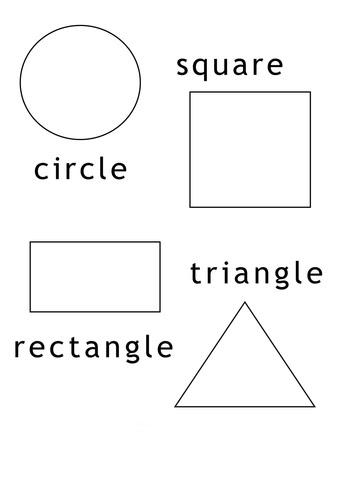 Disegno Di Forme Geometriche Da Colorare Disegni Da Colorare E