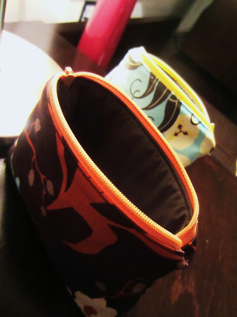 jetsetter pouches brown