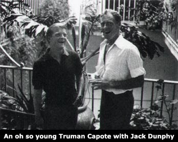Jack Dunphy and Truman Capote by Jared French