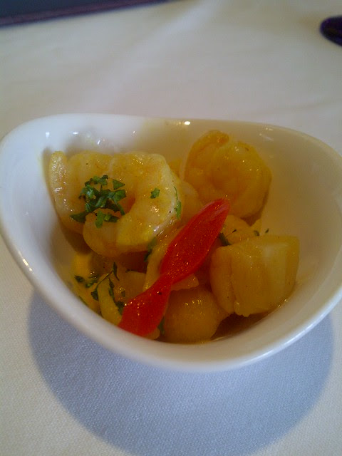 Quinoa pasta with shrimp & scallop 2