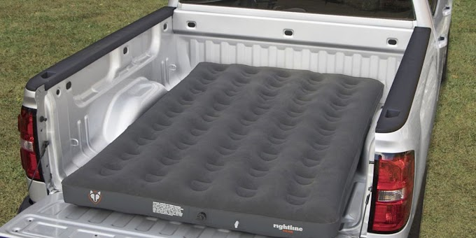 This Air Mattress Was Designed to Fit In The Back Of Your Truck