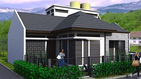 model rumah minimalis 2018 sederhana di kampung - desain rumah