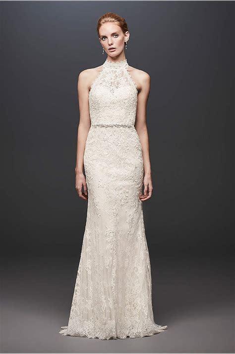 White by Vera Wang Lace Ball Gown Wedding Dress   David's