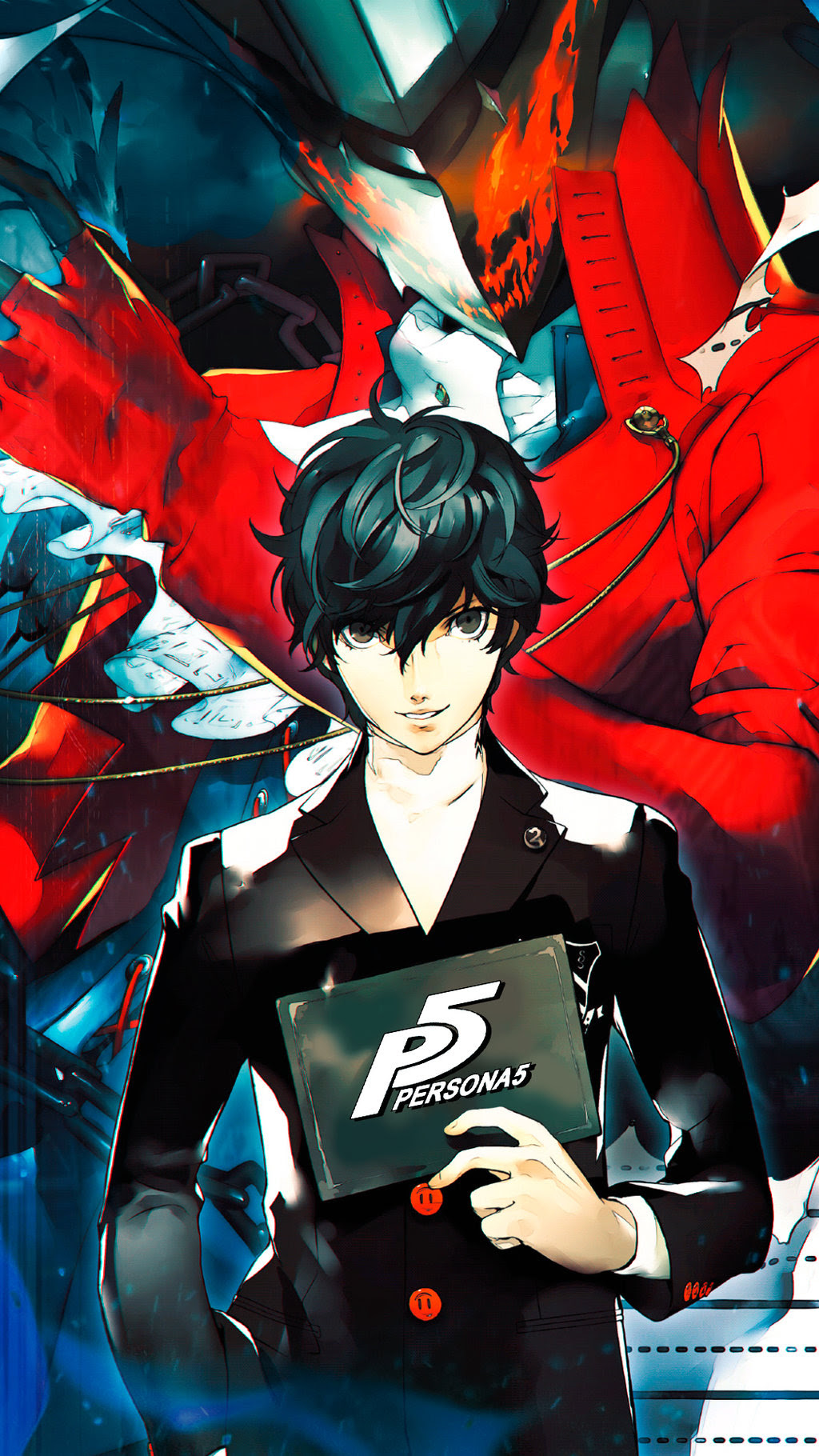 Anyone got iphone wallpapers? : Persona5