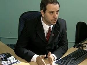 O delegado Geraldo Toledo (Foto: Reprodução / TV Globo)