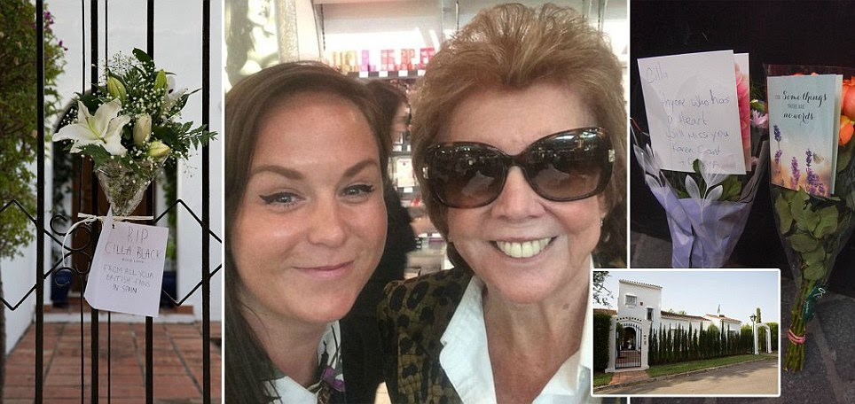 Cilla Black's doting son Bobby smashed his way into her bedroom after she didn't wake up