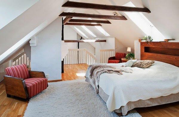 32 Interior Design Ideas for Loft Bedrooms - Interior