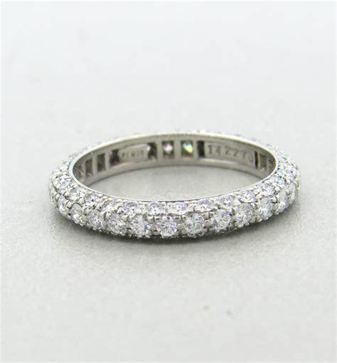 Harry Winston Diamond Platinum Wedding Band Ring at 1stdibs
