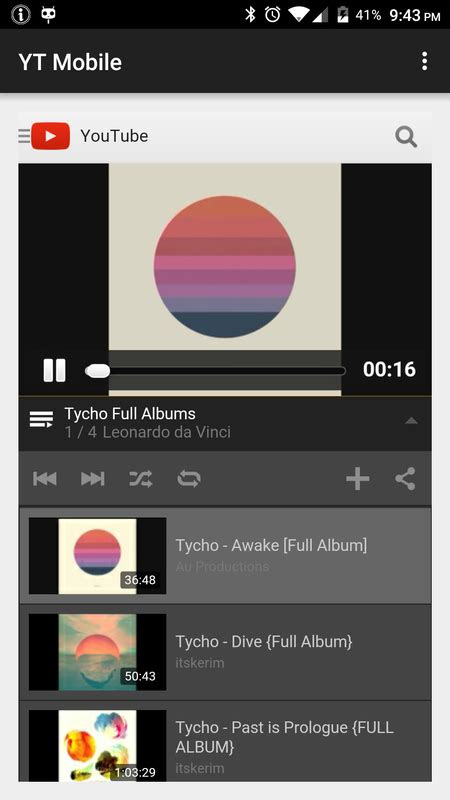 yt mobile  android apk