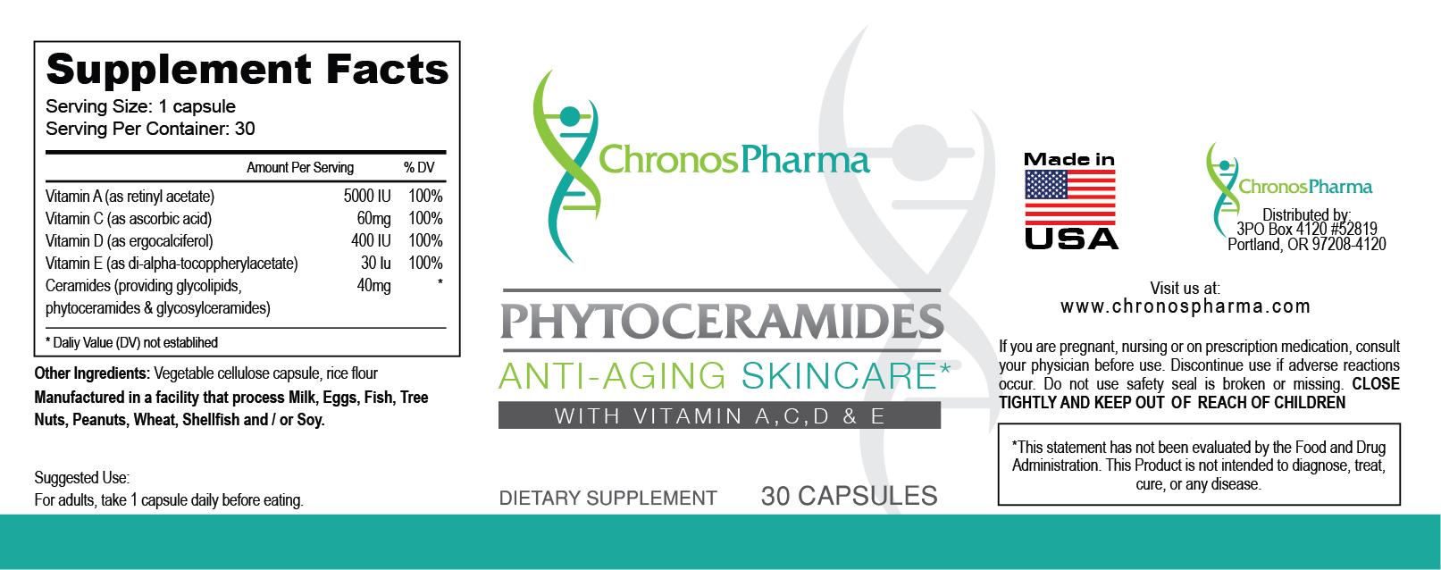Premium Phytoceramides by ChronosPharma | Day by Day ...