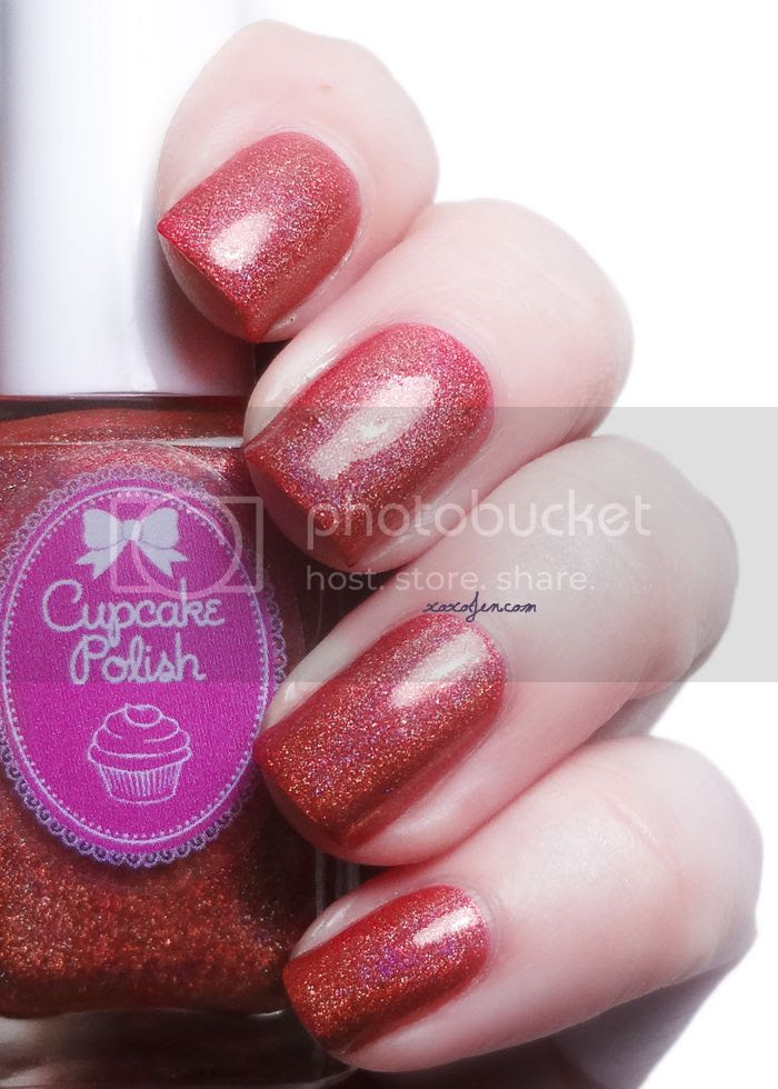 xoxoJen's swatch of Cupcake Polish Merry and Bright