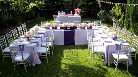 [Modern Backyard] Backyard Wedding Ideas On A Budget
