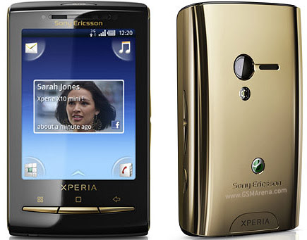 Sony Ericsson Xperia X10 mini Android SmartPhone 5MP wi-fi Images/Pictures