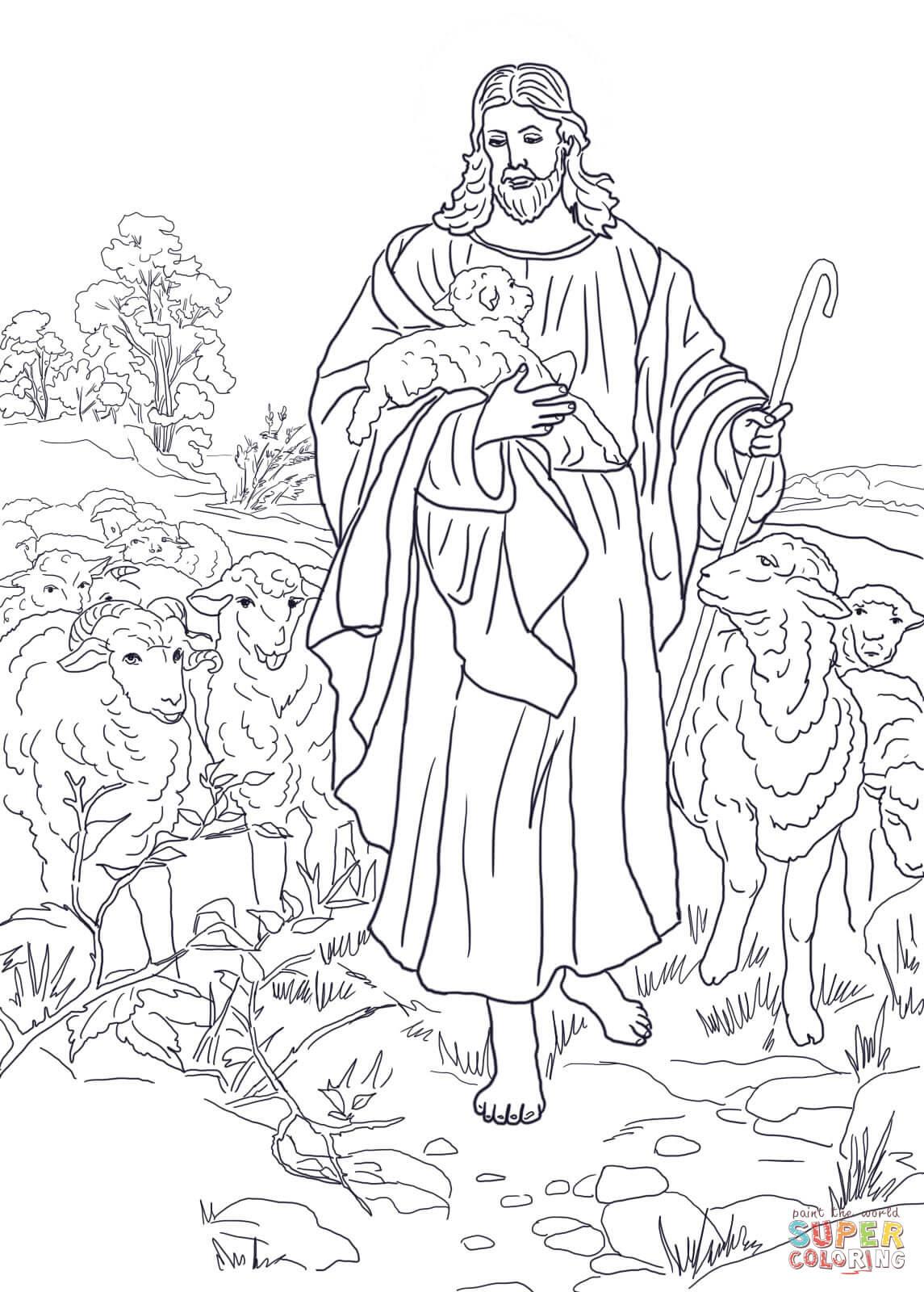 Klick das Bild Jesus ist der gute Hirte
