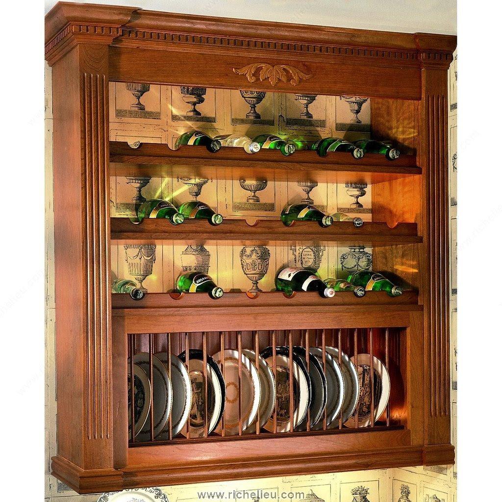 Wood Profile for Bottle Rack - Richelieu Hardware