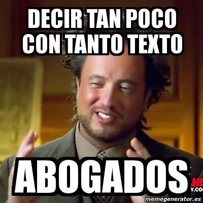 Memes de Abogados - Imagenes chistosas