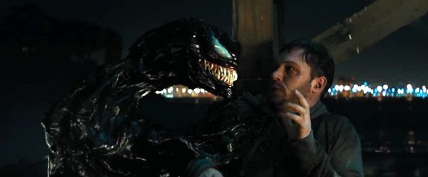 Eddie Brock confronts the Symbiote that infected him in VENOM.