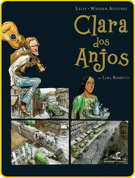 Clara dos Anjos adaptado por Wander Antunes